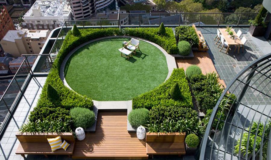 Teknologi Roof Garden di Kota Besar