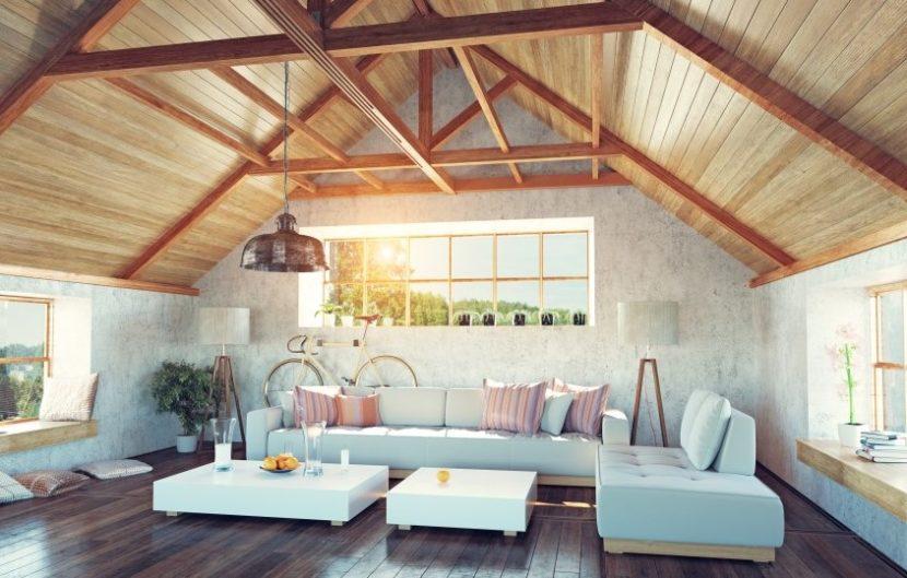 Merancang Ruang Attic Unik di Loteng Atap Rumah