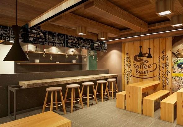 Intip Desain Cafe Modern dan Nyaman